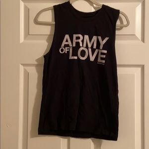 SoulCycle Army of Love Tank Top